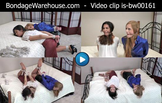 bondage video videos gagged girl-next-door photos